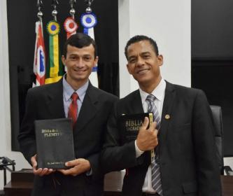 Câmara realiza Sessão Solene de Abertura Oficial Semana da Bíblia